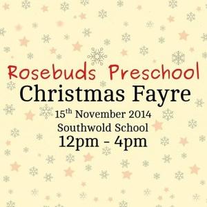 rosebuds preschool xmas fayre